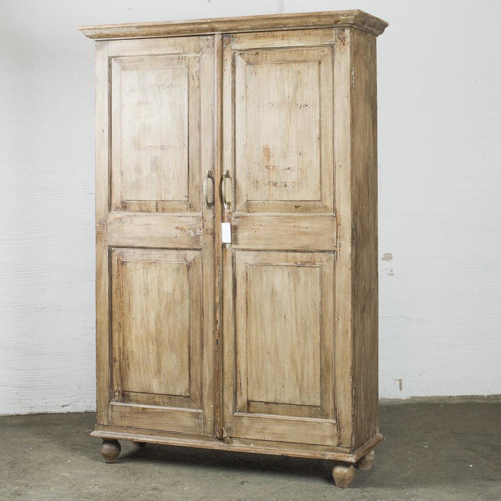 armadio legno naturale h184x124x43