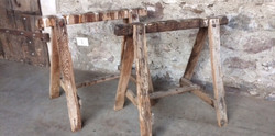 cavalletti in legno