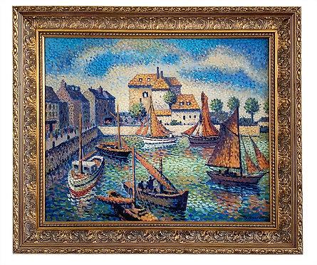 """ROUBINET Maxime Lucien """"Bassin de Honfleur"""""""