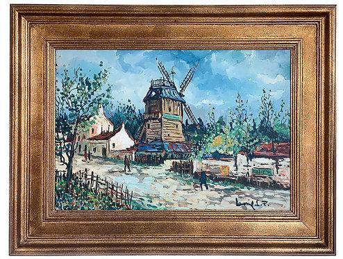 """LAVOINE Robert """"Moulin de la Galette"""""""