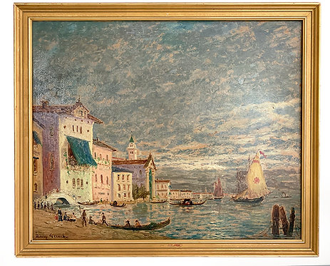 """GERARD Henry """"Venise, le Grand Canal"""""""