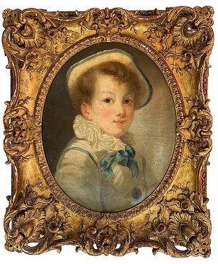 """Suiveur de FRAGONARD """"Portrait d'enfant"""""""