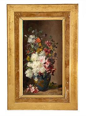 """GODCHAUX Emile  """"Bouquet de fleurs"""""""