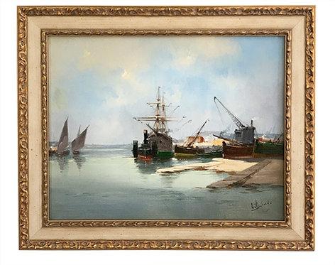 """GALIEN-LALOUE Eugène """"Marine"""""""