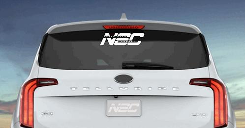 NSC Car Decals