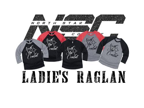 NSC Ladies Logo Raglan