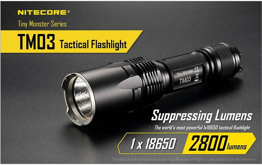 Nitecore Tiny Monster TM 03