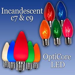 C7 & C9 Bulbs