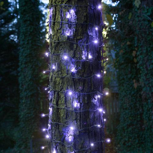 "20"" x 45"" Blue StretchNet Pro TM 5mm LED Christmas Trunk Wrap"