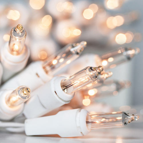 Battery Operated Incandescent Christmas String Lights