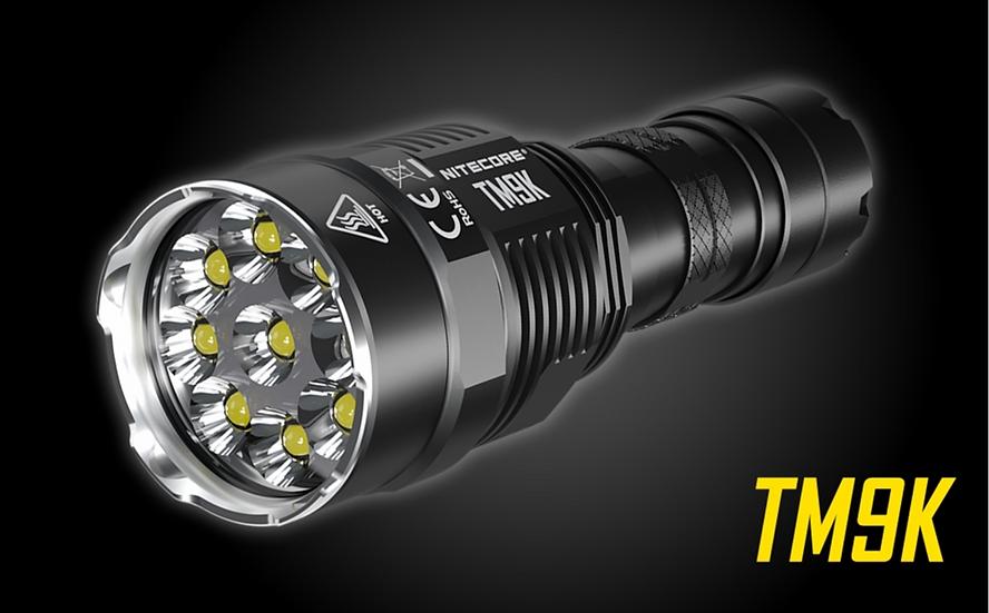 NITECORE TM9K 9500 Lumen Rechargeable Flashlight
