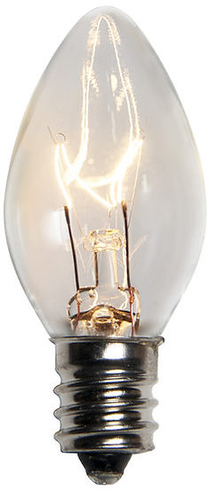 Incandescent Clear C7 Christmas Light Bulb