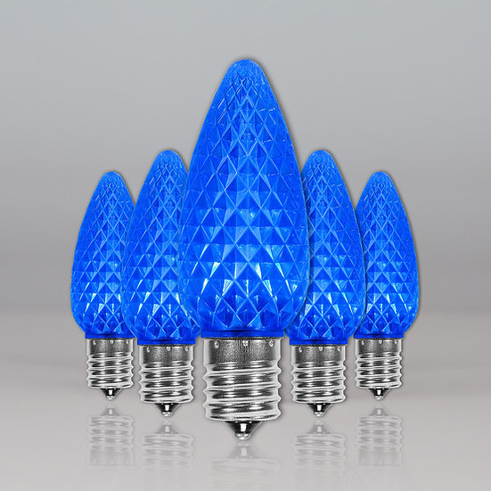 Blue C9 SMD Retro Fit Bulbs