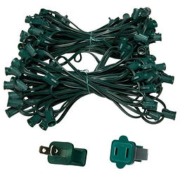 C7_Green_Wire_Light_String_100_Foot_7794