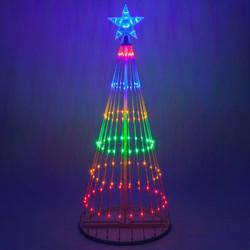 Multicolor LED Light Show Tree