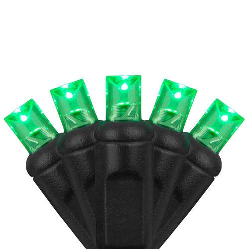 5mm Wide Angle Green LED Halloween Lights