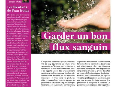 Les troubles circulatoires au menu de notre magazine client Art et Santé