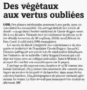 Article paru dans La Gruyère - jeudi 12 mai 2016