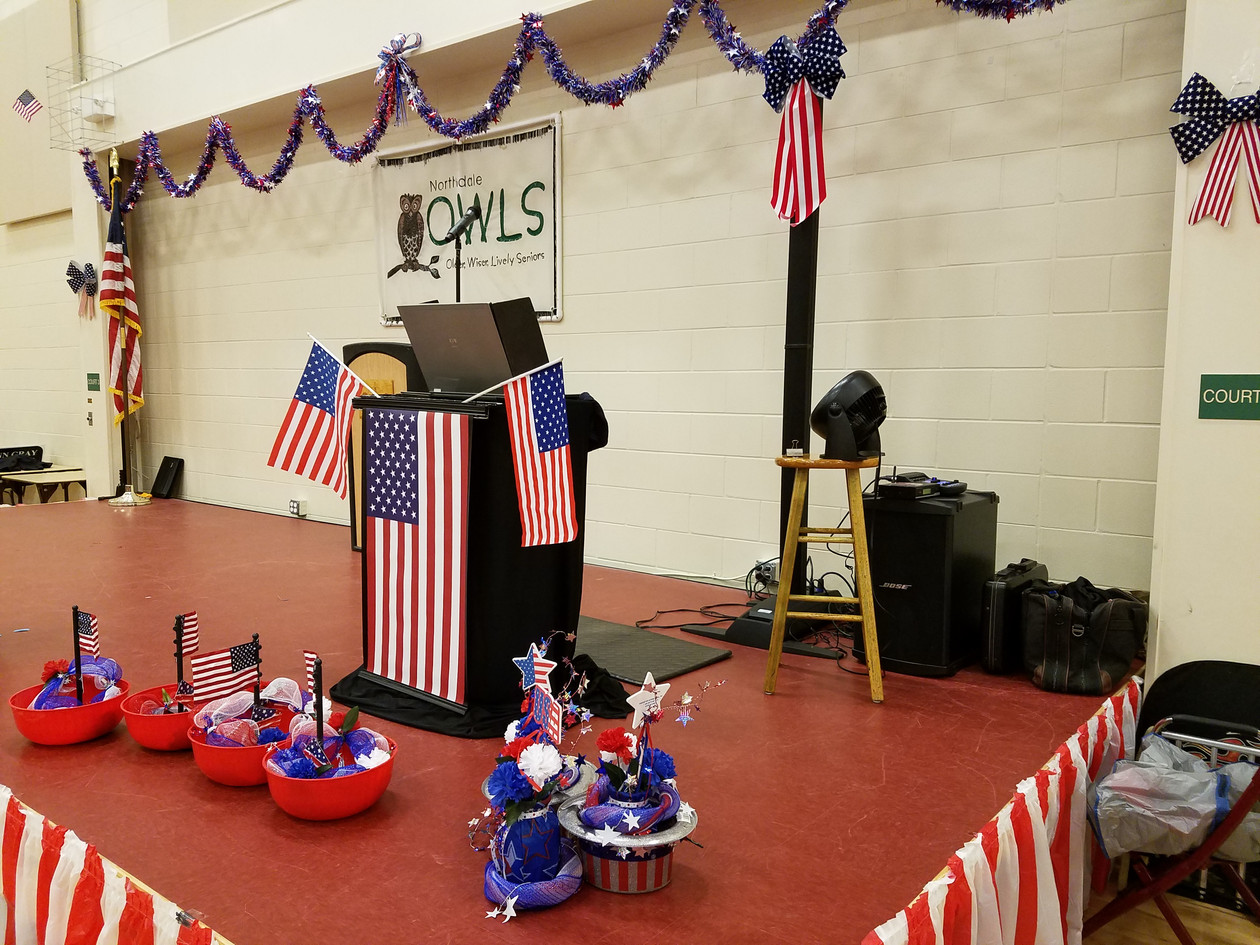My Patriotic setup