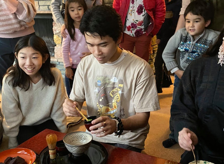 Year End Mochi Pounding & Tea Gathering, 2019 in Seattle