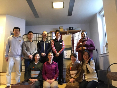 Workshop at The Chanoyu Club at Penn State