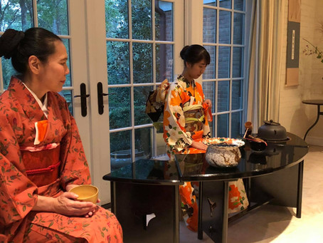 a Full Moon Tea Gathering in D.C.