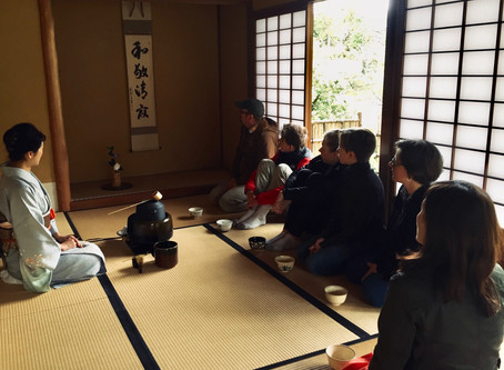 Chanoyu Presentation at The Seattle Japanese Garden