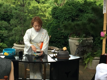 Spring Tea Ceremony and Piano Recital at the historic elegant Evermay estate, Georgetown