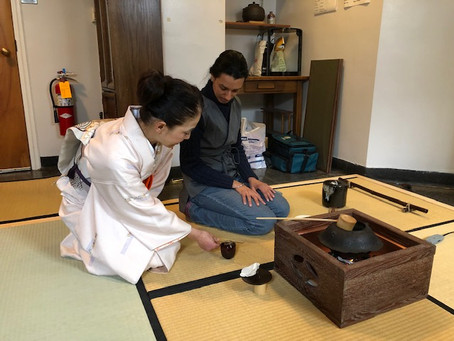 Workshop at The Chanoyu Club at Penn State University