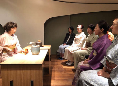 Fall Public tea ceremony at the Place 229 in NYC