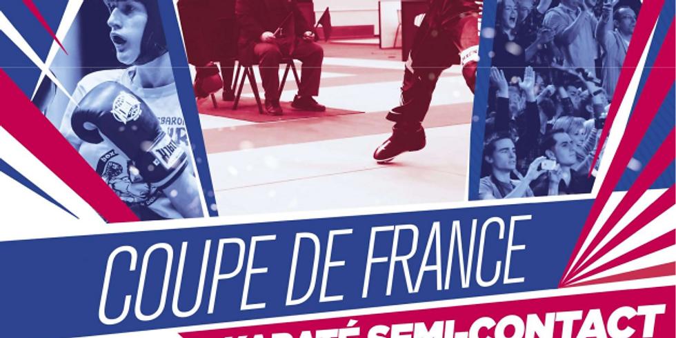 Coupe de France Zone Nord Karaté Semi Contact et Karaté Contact