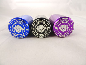 TOUGE RUNNERS GEARKNOB BLUE BLACK PURPLE