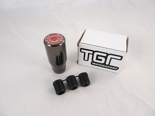 Gunmetal Red Gear Knob