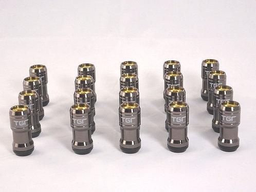 Gunmetal gold Wheel Nut Set