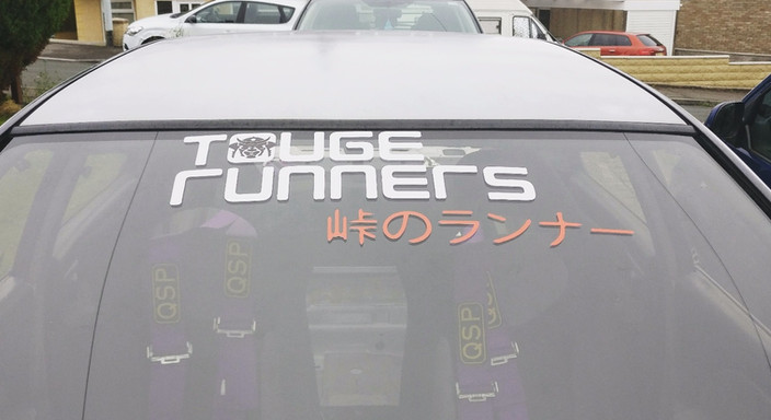 TOUGE RUNNER STICKER