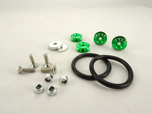 Green Touge Runners Bumper Quick Release Set