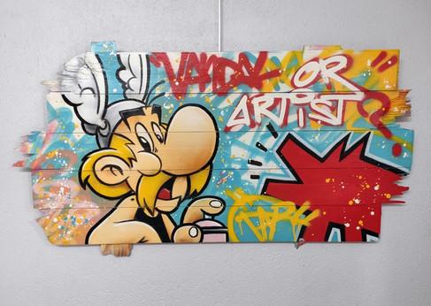 Vandal or Artist?