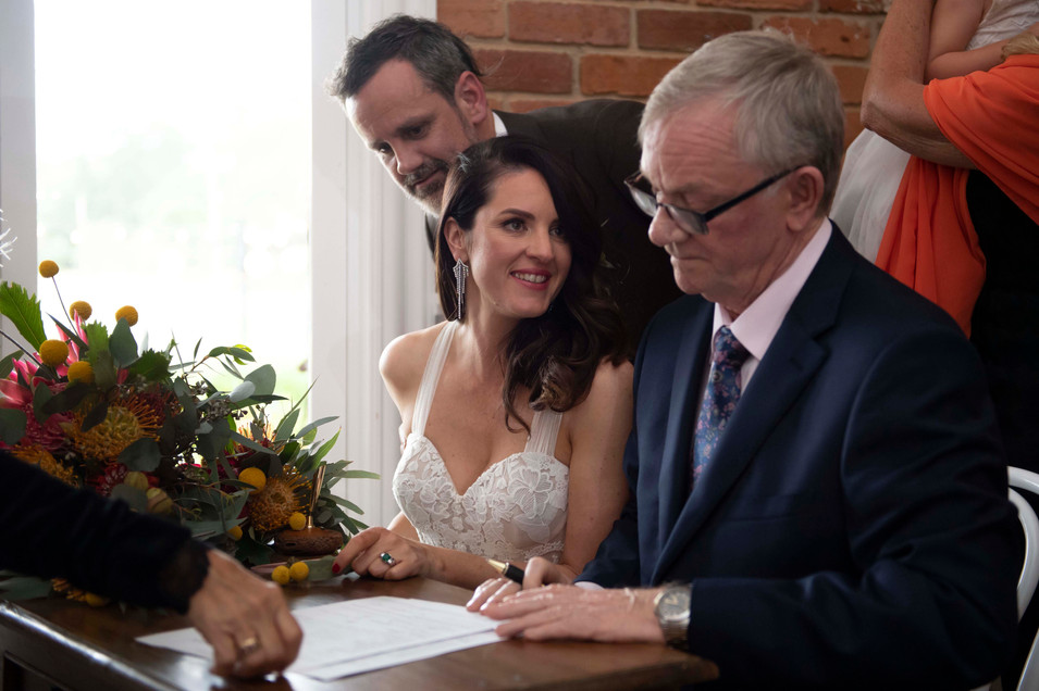 Marriage Certificate Signature