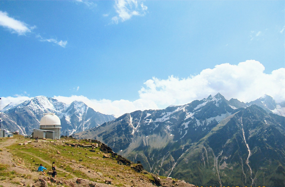 Cheget Observatory Caucasus Mountain Hike, Treskol