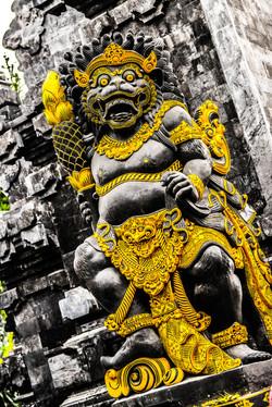 Temple in Ubud, Bali, Indonesia