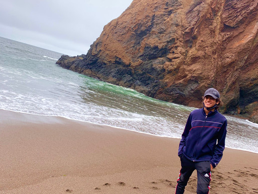 Hike Muir Beach to Tennessee Beach Loop - Sausalito, California