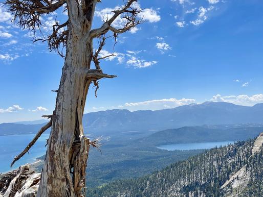 Granite Lake and Maggie's Peak, South Lake Tahoe, CA