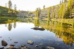 Lakes of Mt Tallac - Cathedral Lake