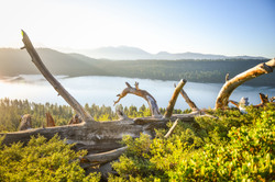 Lakes of Mt Tallac - Fallen Leaf Lake