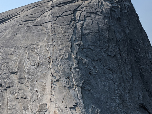 Cables of Half Dome - Yosemite National Park, California