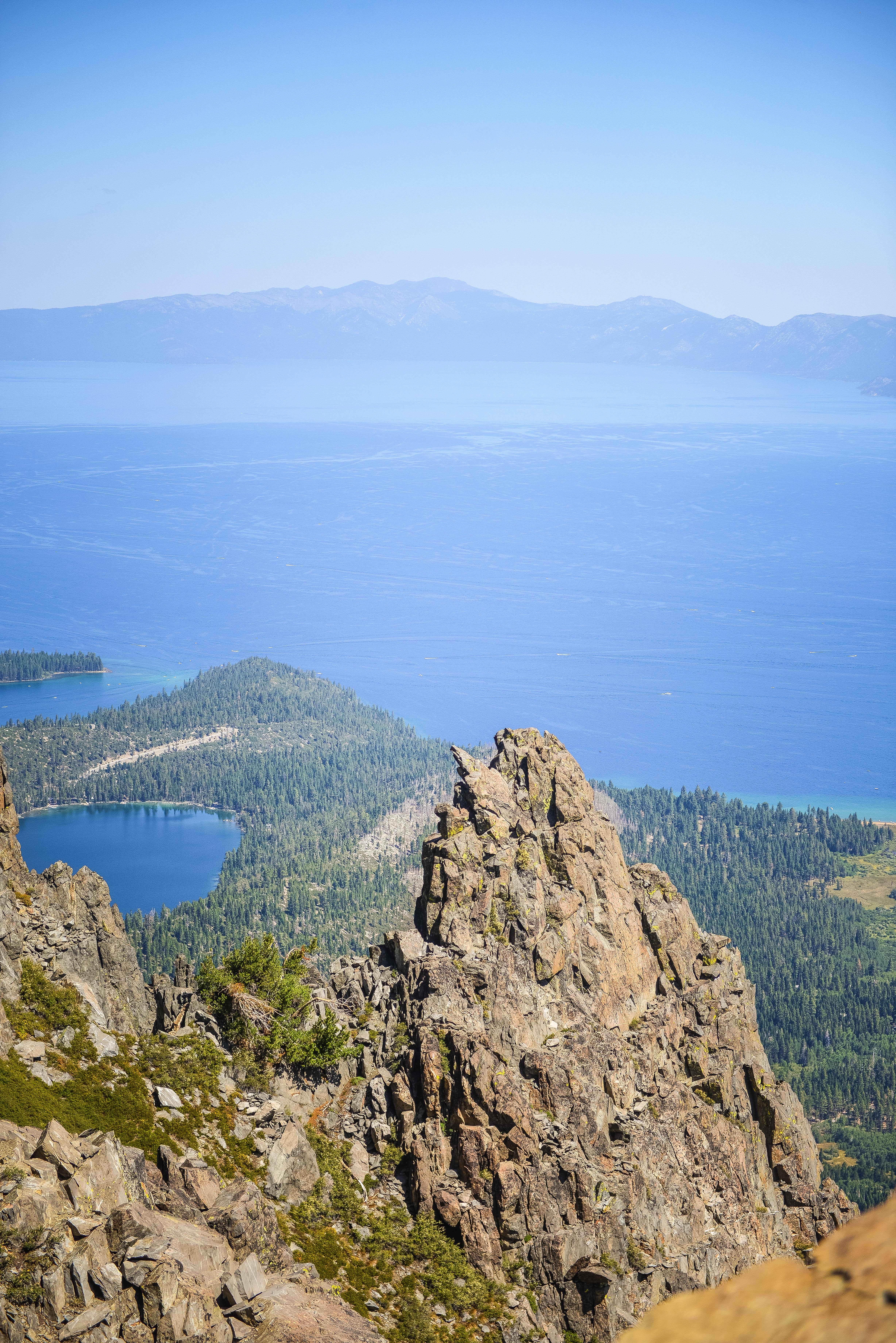 Lake Tahoe from Mt Tallac