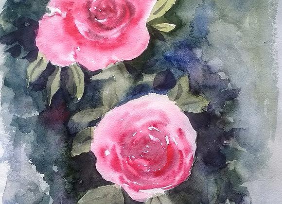 Floral 2020_22   Watercolor
