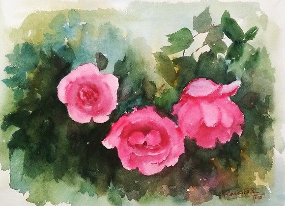 Floral 2020_23 | Watercolor
