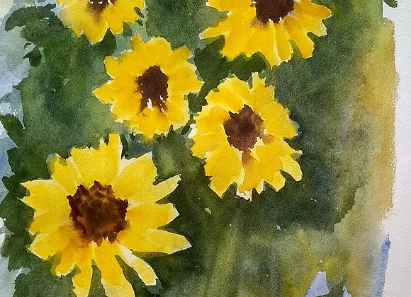Floral 2020_27   Watercolor