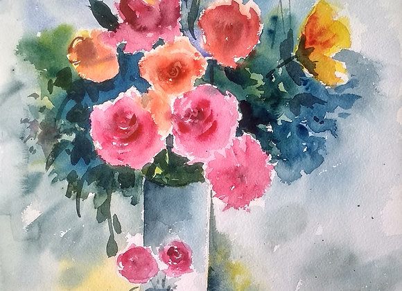 Foral 2020_17 | Watercolor